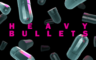 Heavy Bullets - Key Art