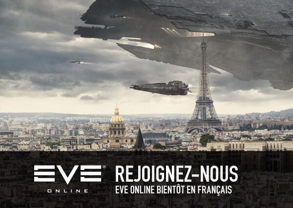 REJOIGNEZ-VOUS, EVE Online bientôt en français
