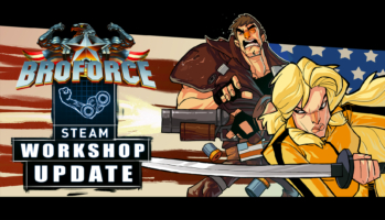 Broforce - October Update Key Art
