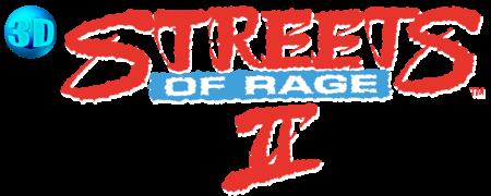 3D Streets of Rage 2 logo (EU Version)