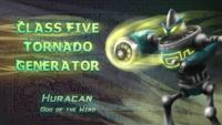 Huracan postcard