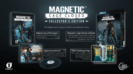 Magnetic Collector's Edition Cover Artwork