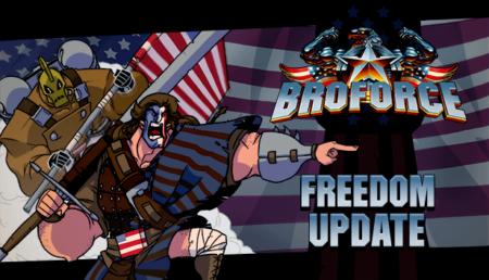 Broforce - Freedom Update Key Art 2