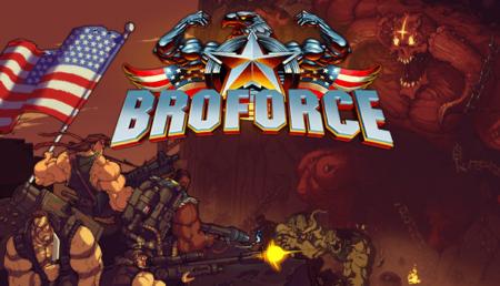 Broforce - Launch Key Art Large