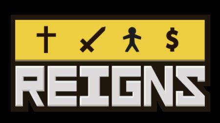 Reigns - Logo_Yellow