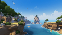 RiME - Environmental Art - Stage 1 Day
