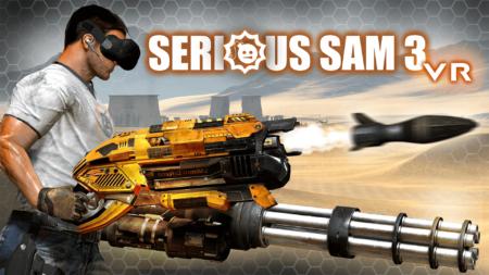 Serious Sam 3 VR - Key Art