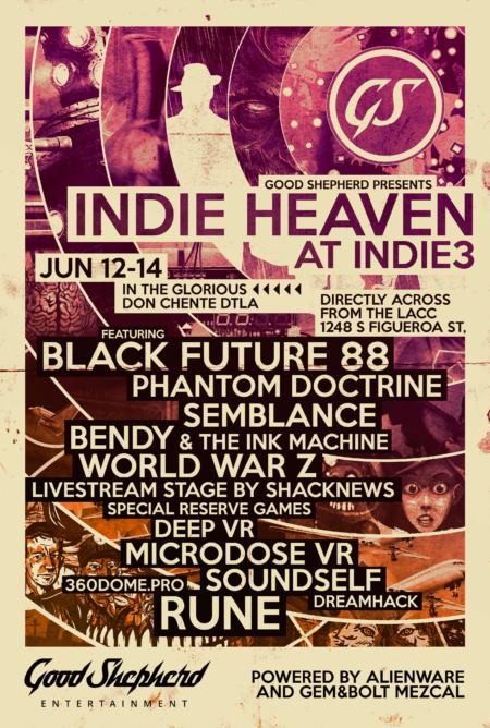 Indie Heaven flyer