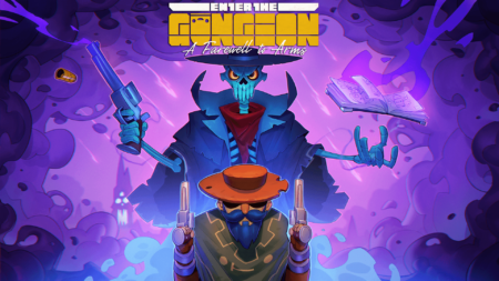 Enter the Gungeon - A Farewell to Arms_Key Art